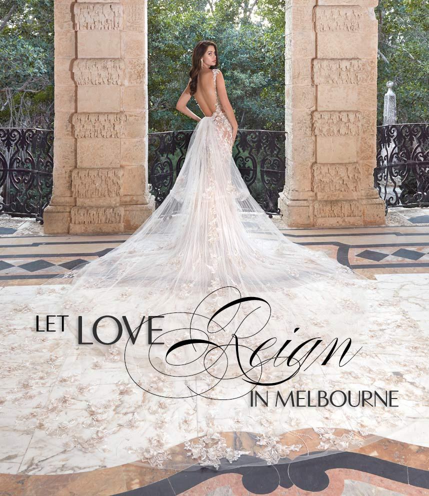 Let Love Reign Bridal Shops Wedding Dresses Sydney